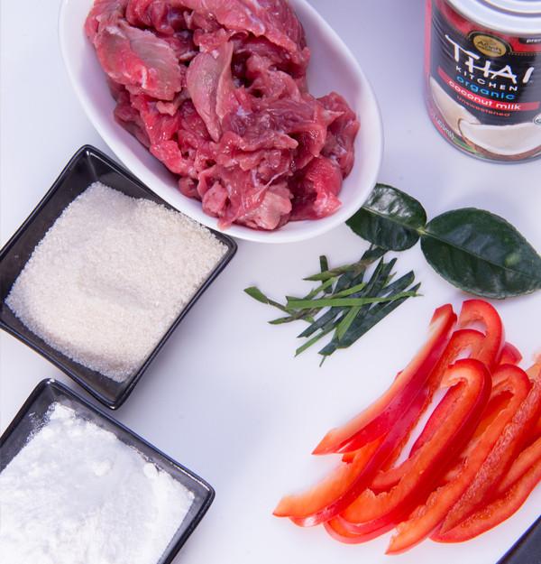 Beef Panang Curry. www.healthnutnation.com