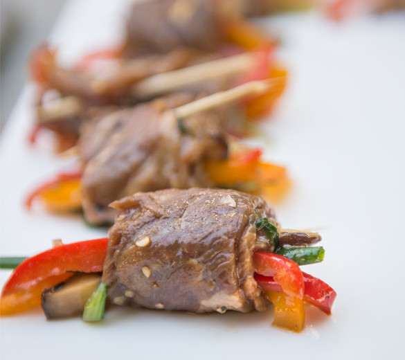 healthy steak rolls