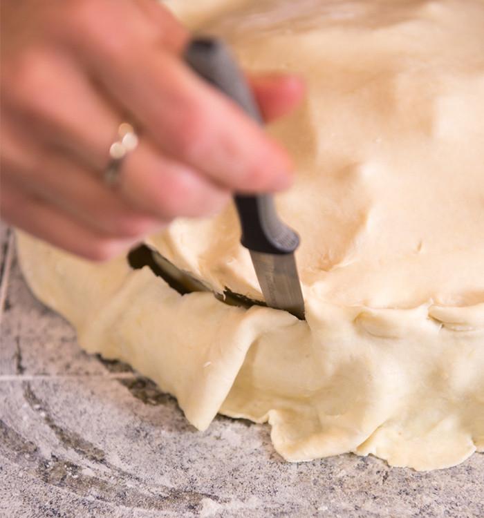 gluten free apple pie filling. www.healthnutnation.com