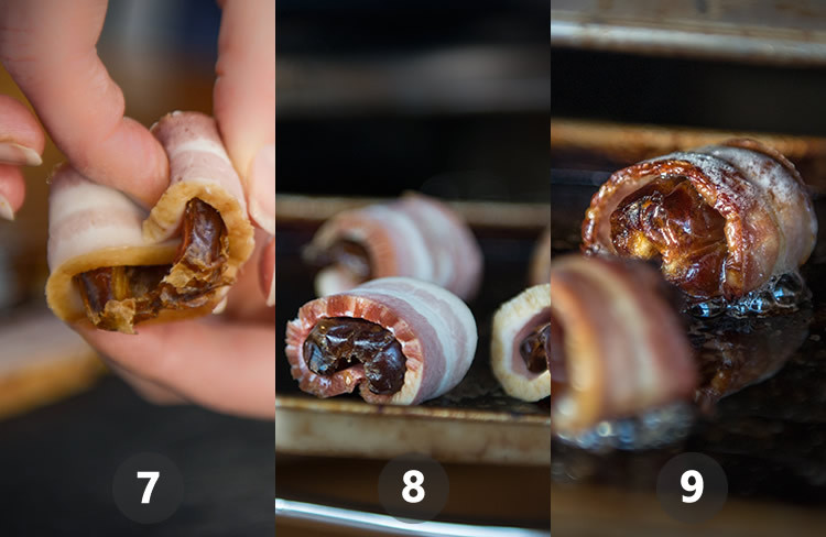 give that date a big 'ol bacon hug and watch it sizzle