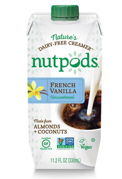 Nutpods- a dairy free creamer that tastes and acts like half and half!