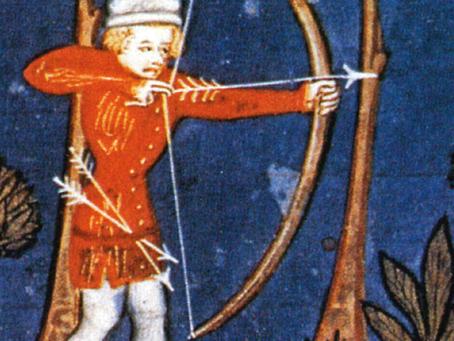 Pfeiltransport im Mittelalter 8.-16. Jh.