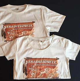 Das tolle Retro-Shirt von TRADITIONELL BOGENSCHIESSEN