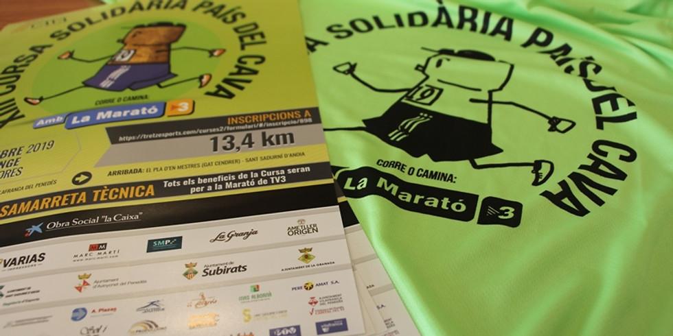 XIII Cursa Solidària País del Cava