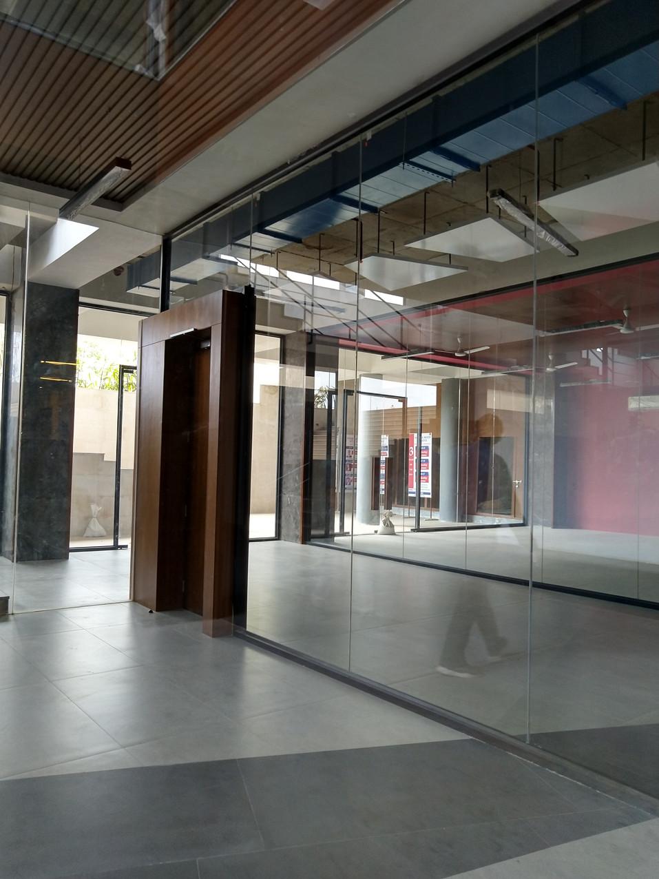 open glass classroom