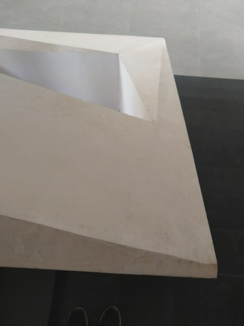 Triangulated staircase