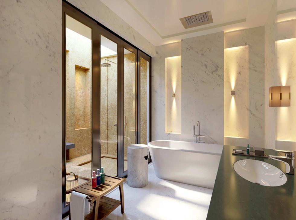 Westin bathroom