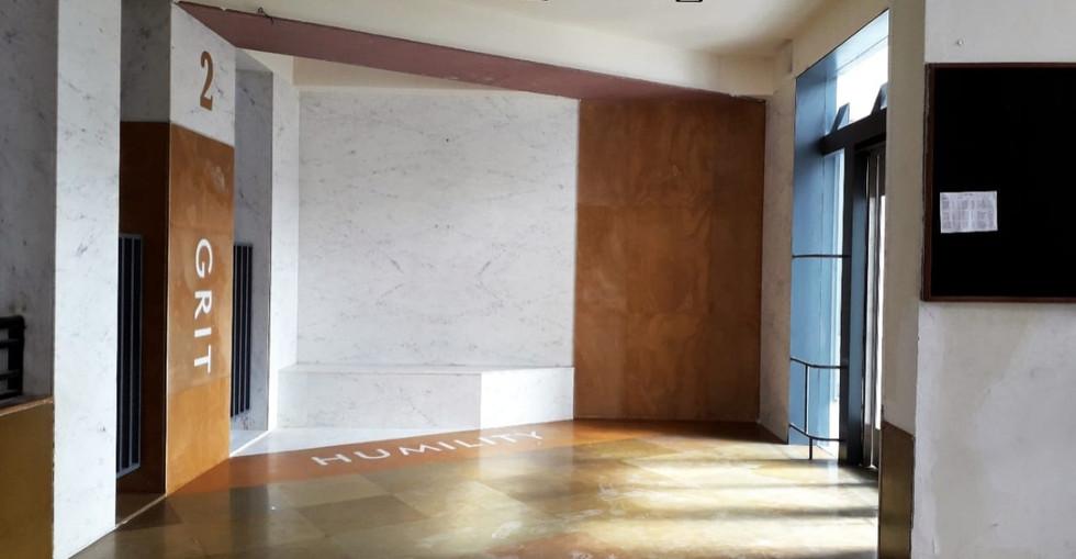 Second floor lift lobby