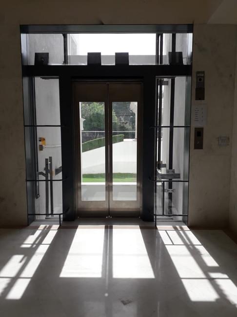 Lift opening 2