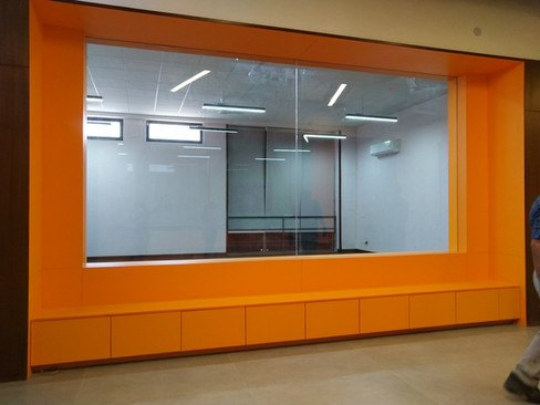 semi formal bench area in s
