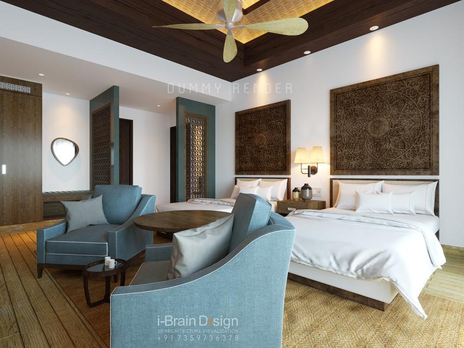 Grounf floor bedroom