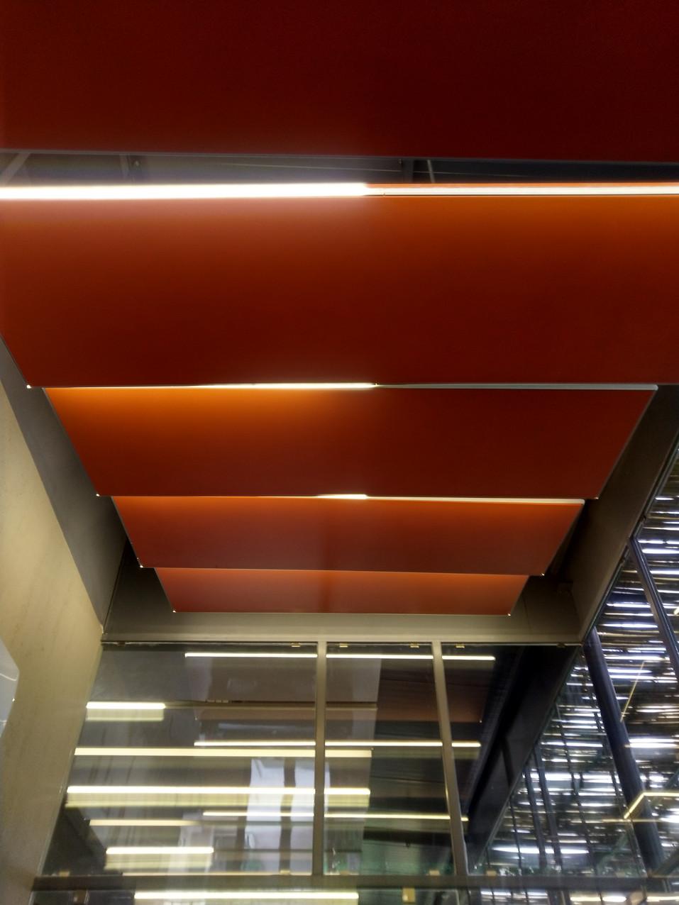 Meeting room ceiling