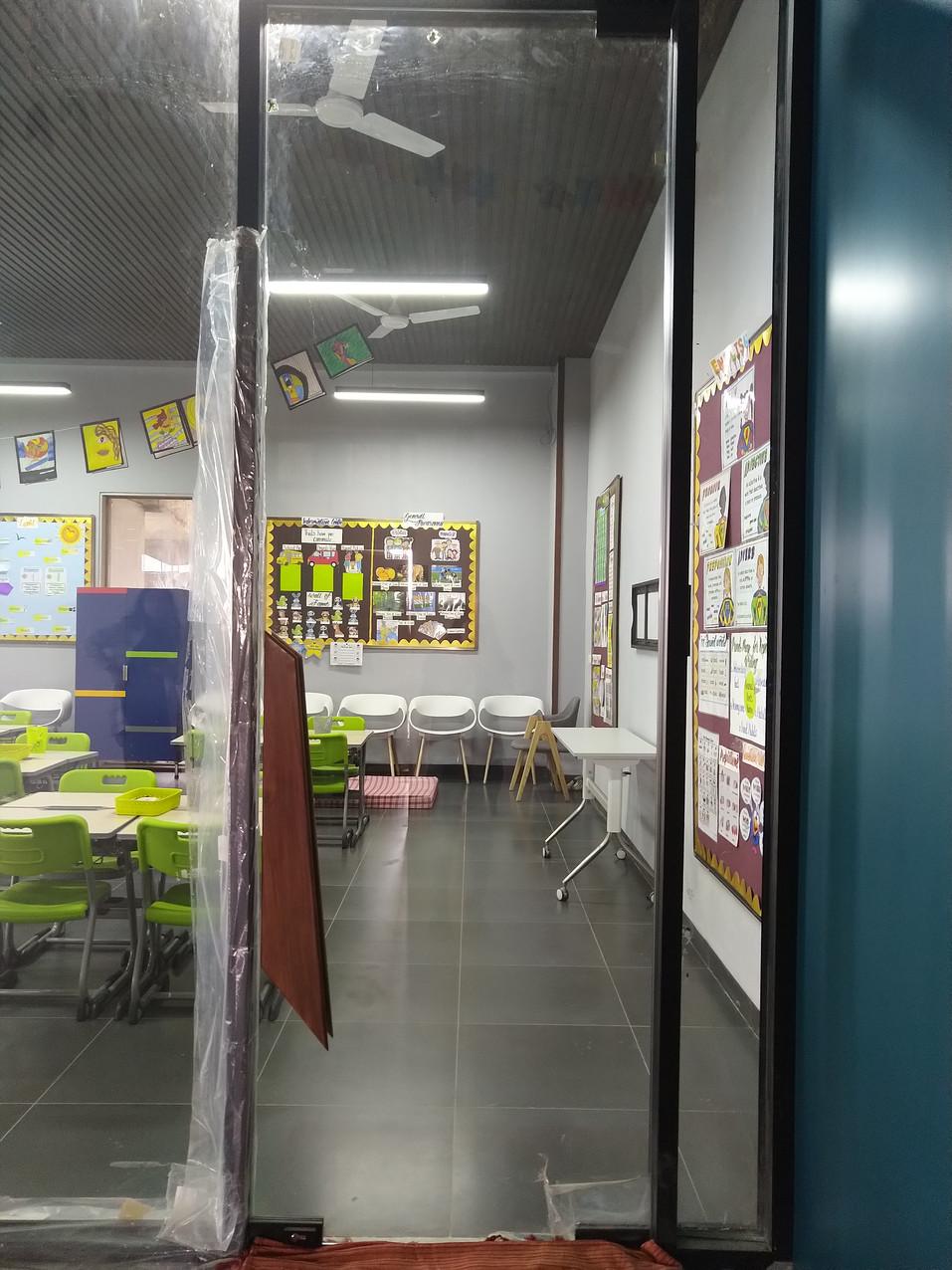 Mock classroom