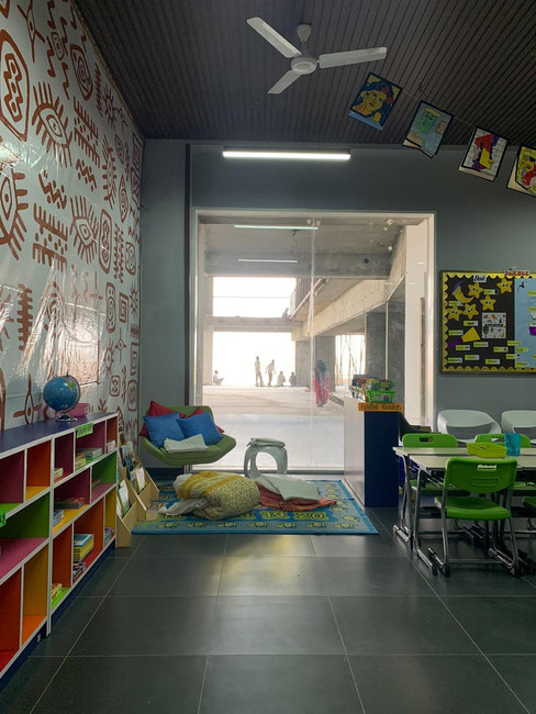Class room Library zone
