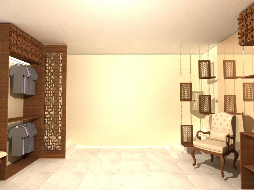 wood carving room divider