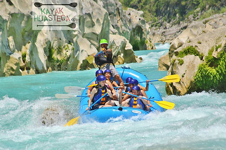 Rafting Huasteca Potosina Xilitla
