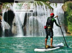 Micos waterfalls SUP