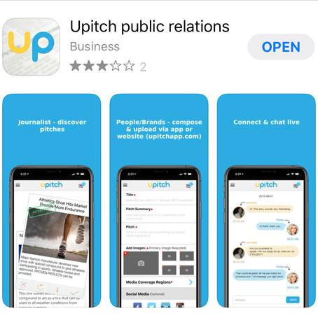 Upitch for PR Professionals