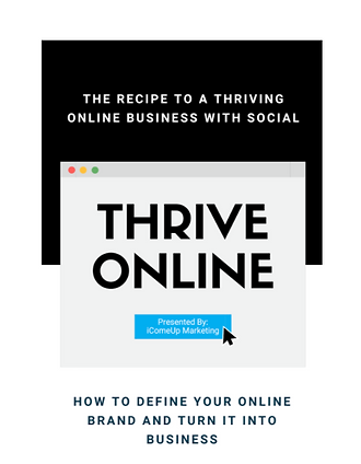 The Recipe to a Thriving Online Business Ebook