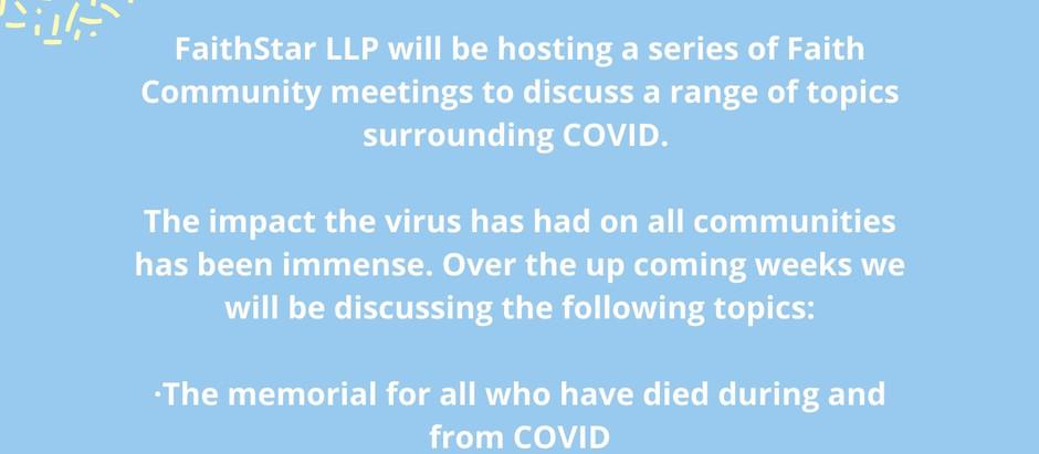 Faith Communities COVID-19 Meetings