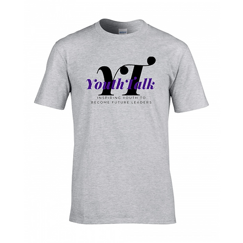 Youth Talk Tshirt (Gray)