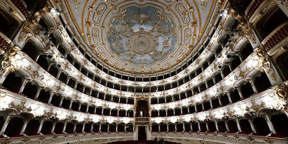 Il Barbiere di Siviglia in life streaming, Teatro Municipale di Piacenza