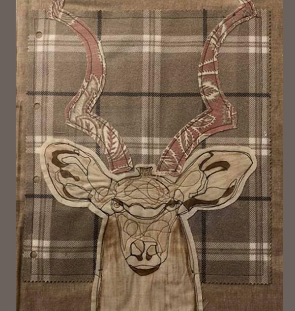 Stitched Deer