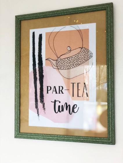 Par-tea time! For interior decor