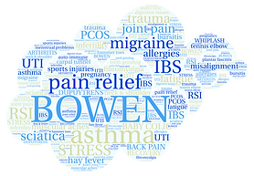 pain relief, Bowen therapy, astham, stress, injuries, trauma
