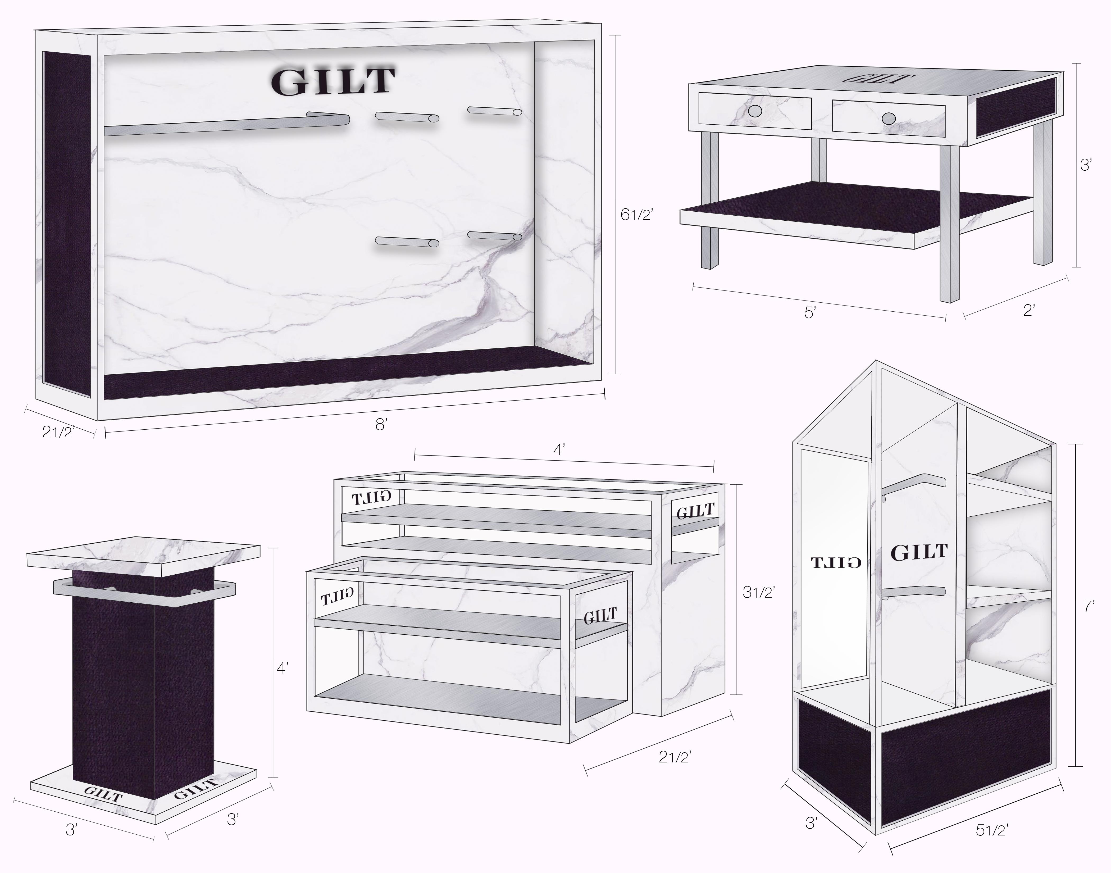 Gilt - Custom Fixtures