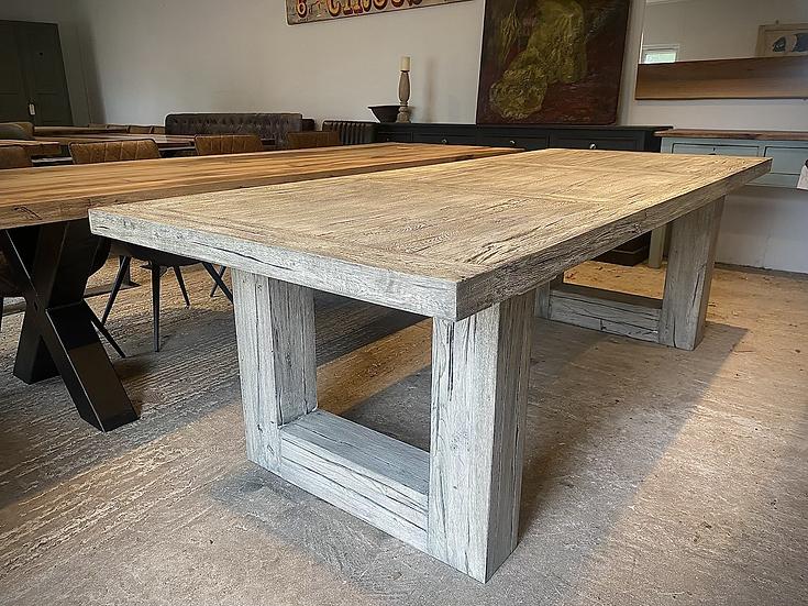 220 x  100 cm 100 year old reclaimed oak