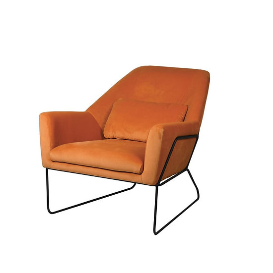 Viola Pumpkin Low Chair