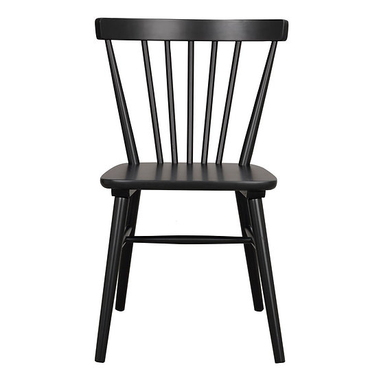 Akita Black Chair