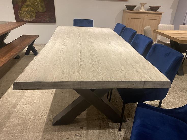 240 x 120 cm Silver Fox Dining Table