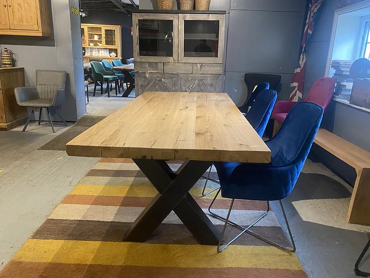 220 x 100 cm 100 year old oak table