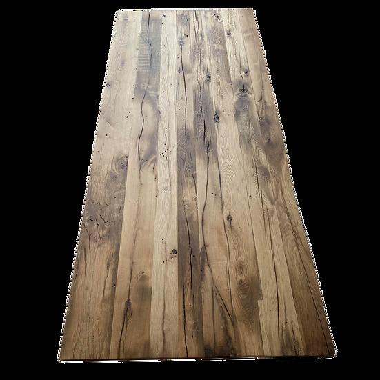 232 x 103 cm 100 year old oak table