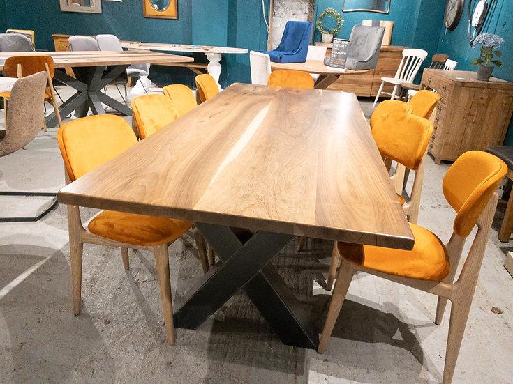 240 x 100 cm walnut table
