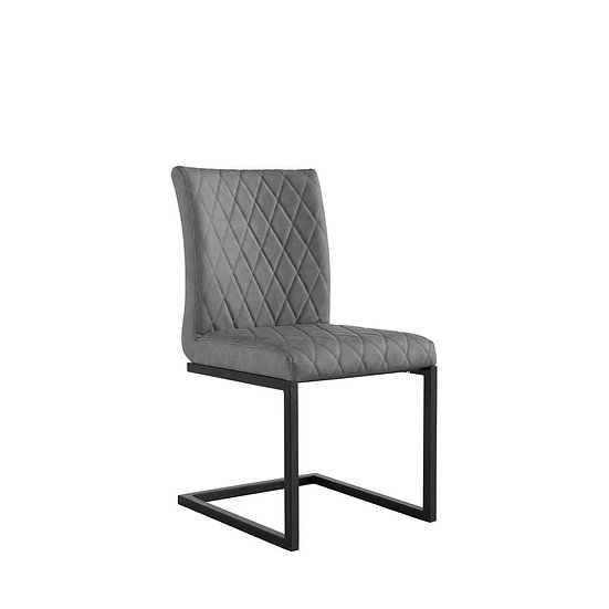 Diamond Back Counter Lever Chair (GREY)