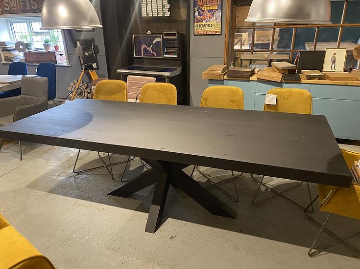 240 x 100 cm Carbon Black Table