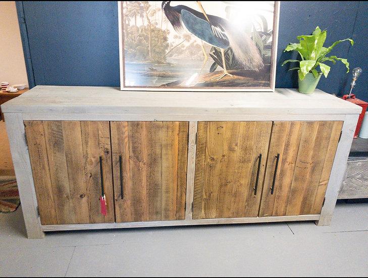 200 cm Reclaimed pine sideboard