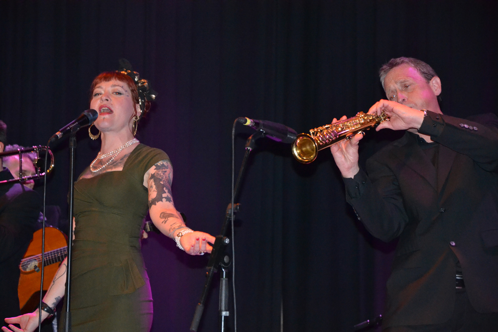 Paul Harrison Band & Meschiya Lake.