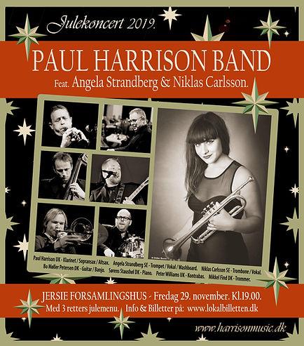 PaulHarrisonBand-Julekoncert.