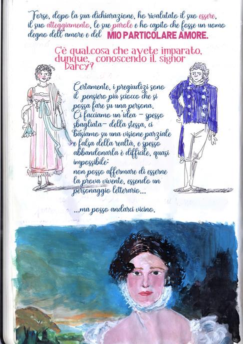 Elisabeth Bennet in Darcy