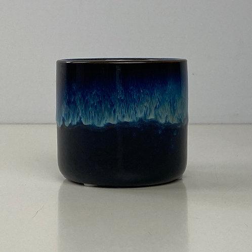 Blue Ocean Sky Gloss Glazed Ceramic Planter