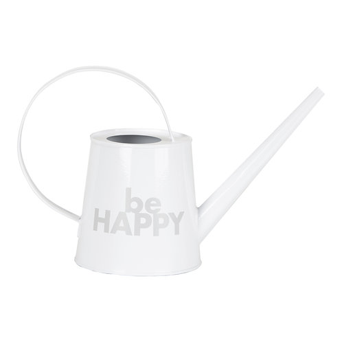 """Be Happy"" Watering Can"
