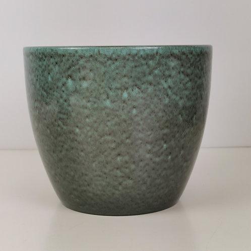 Glazed Sea Moss Ceramic Planter