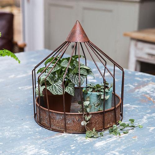 Rustic plant cage