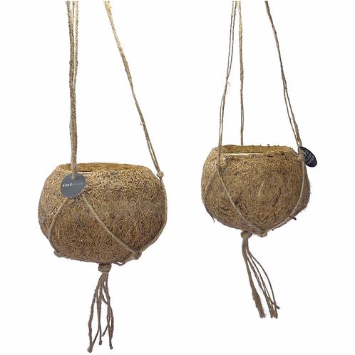 Kokedama Coconut Fibre Hanging Planter - Indoor Plant Pots