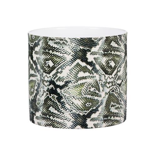 Reptile Scales Ribbed Ceramic Planter