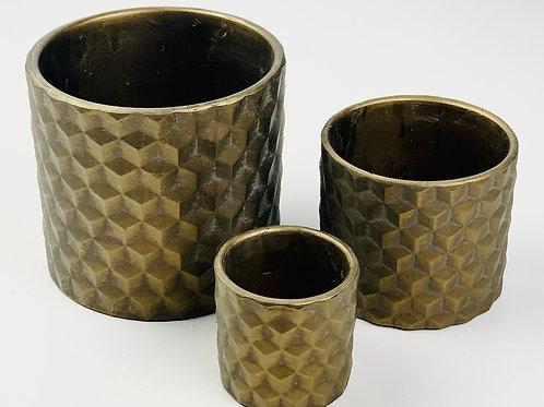 Dark Bronze 3D Textured